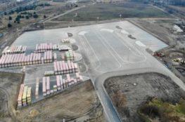 Budowa placu składowego oraz parkingu dla Paroc sp. z o.o. w Trzemesznie - Broster